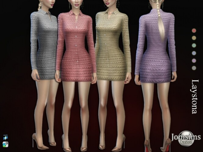 Laystona dress by jomsims