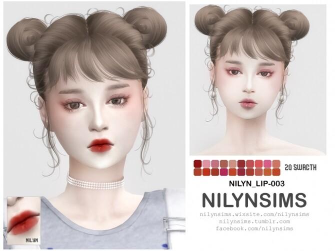 Sims 4 LIPSTICK 003 at Nilyn Sims 4