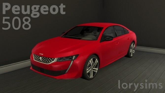 Peugeot 508 by LorySims