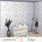 Tulips wallpaper by lavilikesims