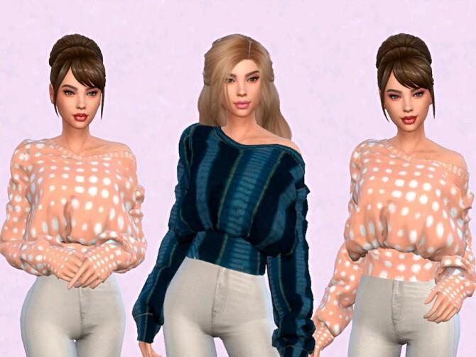 Sims 4 Amelia sweatshirts by DrIm57 at TSR
