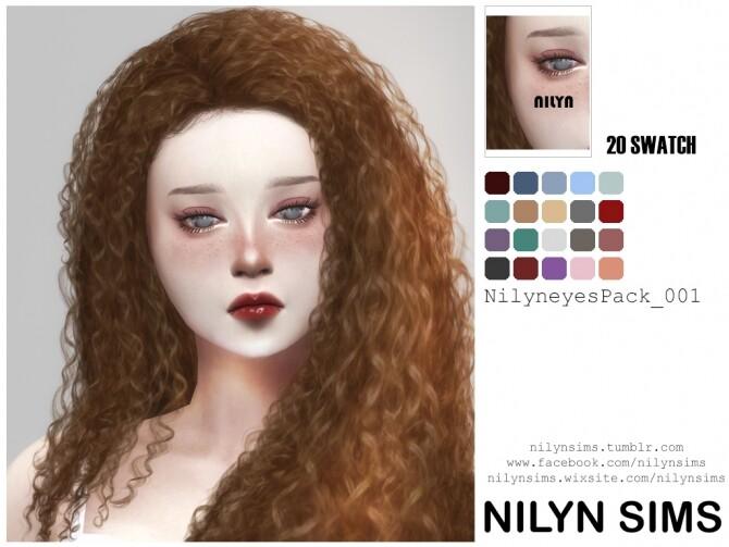 Sims 4 EYESPACK 001 at Nilyn Sims 4