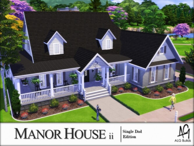 Manor House 2 by ALGbuilds