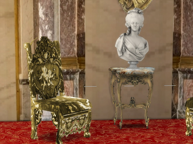 Sims 4 Angelika Chairs at Anna Quinn Stories