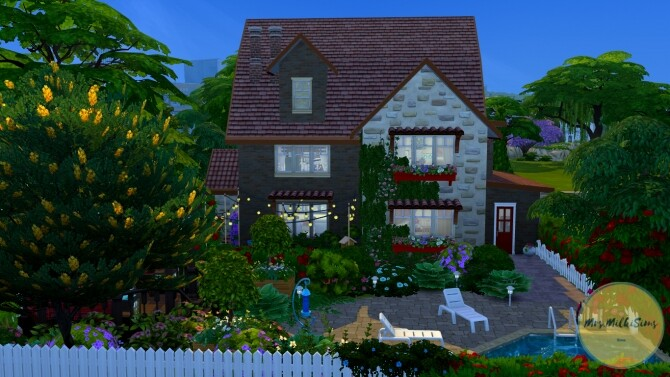 Parental home at Mrs.MilkiSims image 1121 670x377 Sims 4 Updates