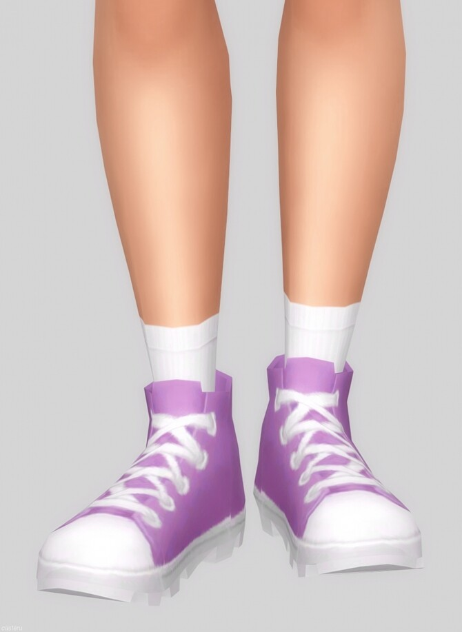 Stompy shoes + socks at Casteru image 11214 670x917 Sims 4 Updates