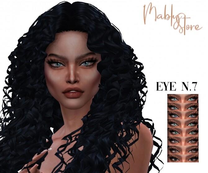 Sims 4 EYES N.7 at Mably Store