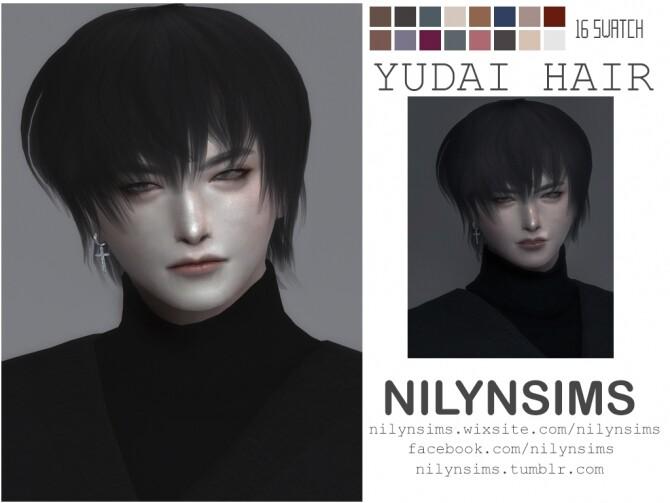 Sims 4 YUDAI HAIR at Nilyn Sims 4