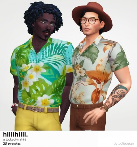 HilliHilli tucked-in shirt by Joliebean