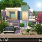 Cubic Falls villa by dasie2
