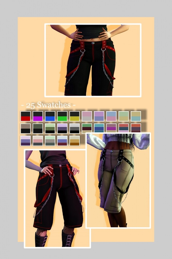 Riot Pants at EvellSims image 1134 667x1000 Sims 4 Updates