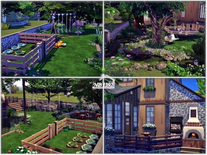 Sims 4 Countryside home by nobody1392 at TSR