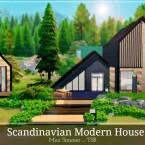 Scandinavian Modern House by Mini Simmer