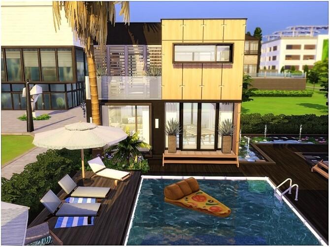 Sims 4 Modern Housing by lotsbymanal at TSR