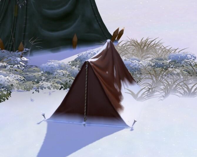 Sims 4 TSM Tents part 2   Bandit Tents at Medieval Sim Tailor