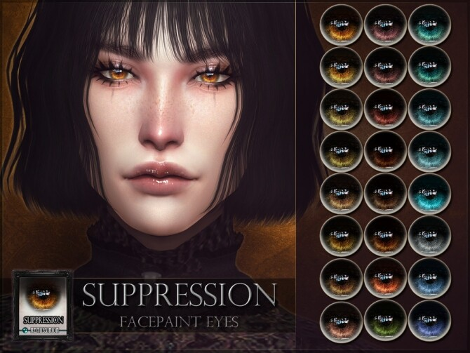 Sims 4 Suppression Eyes by RemusSirion at TSR