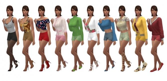 Sims 4 BG HOT PANTS at Sims4Sue