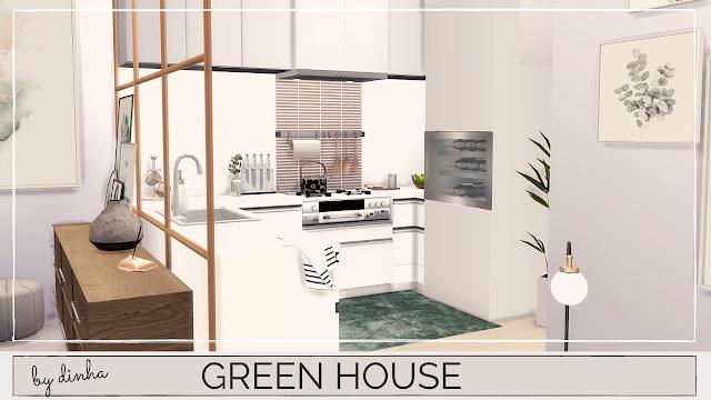 GREEN APARTMENT at Dinha Gamer image 1171 Sims 4 Updates