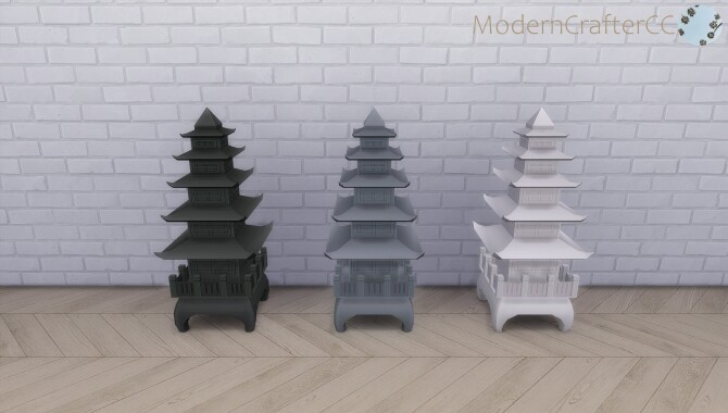 Pagoda Statue at Modern Crafter CC image 11714 670x380 Sims 4 Updates