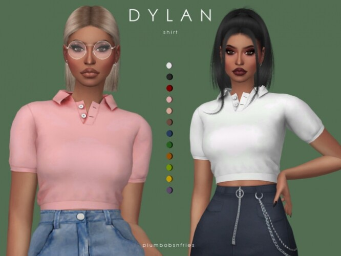 DYLAN shirt by Plumbobs n Fries