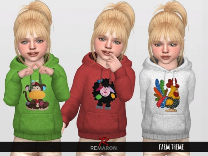 Farm Hoodie for Toddler 01 by remaron