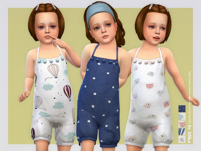 Playtime Romper by lillka at TSR image 11814 670x503 Sims 4 Updates