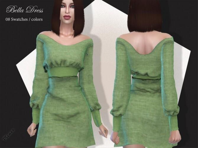 Sims 4 Liz Dress by pizazz at TSR