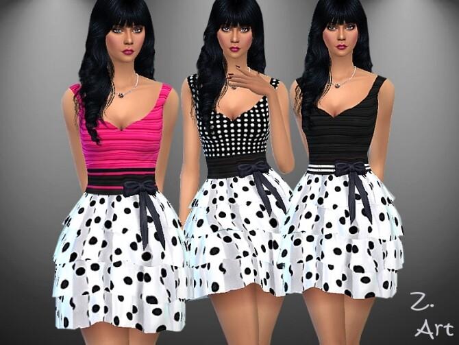 RetroZ 09 Dress by Zuckerschnute20 at TSR image 11918 670x503 Sims 4 Updates