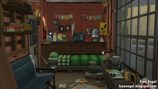 Sims 4 Container Home at Frau Engel