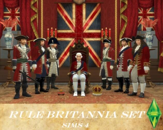 Rule Britannia Set by Nutter-Butter-1