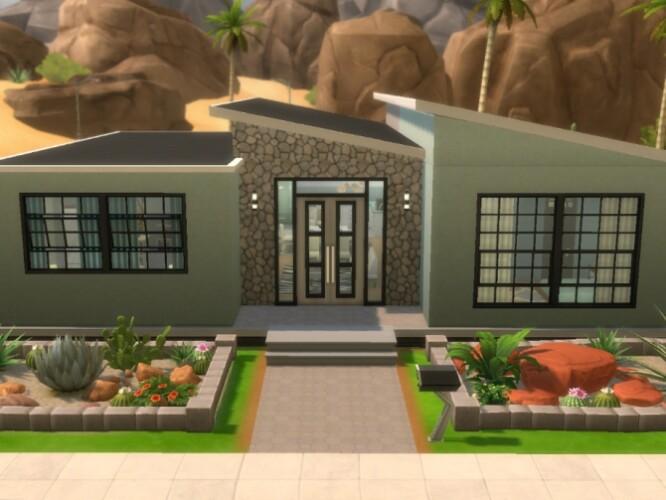 Pistachio Paradise house by Biotic_Blue_Simmer