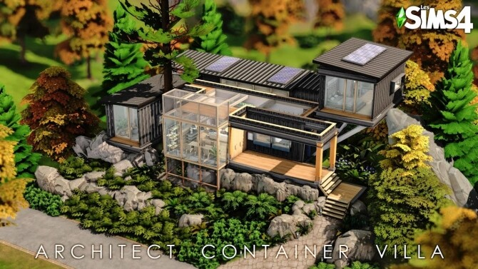 Architect Container Villa