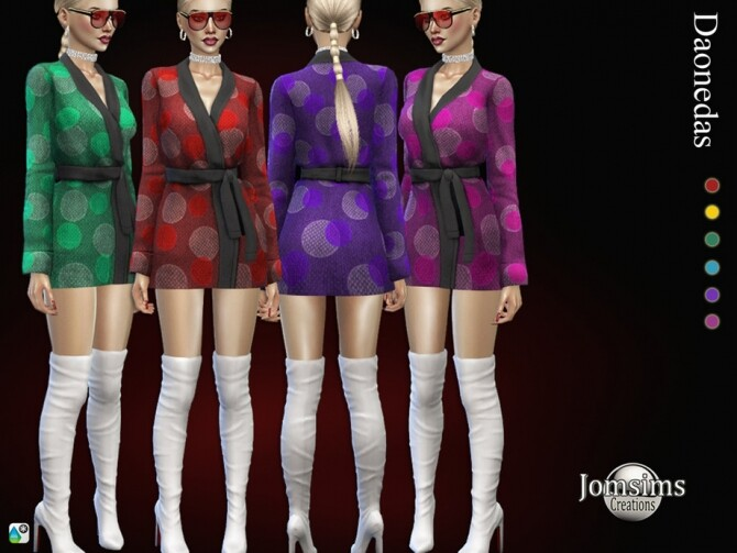 Daonedas dress by  jomsims at TSR image 1208 670x503 Sims 4 Updates