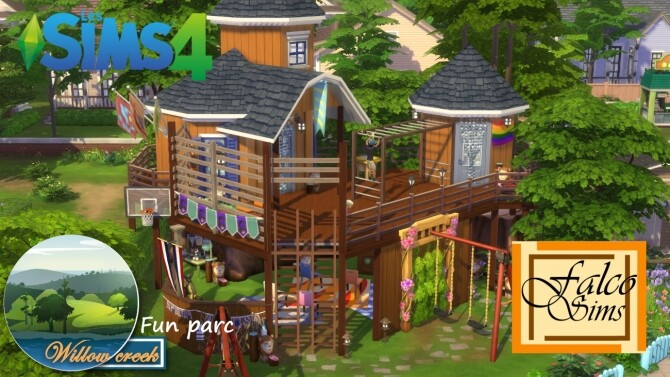 Fun park by Falco at L'UniverSims image 12115 670x377 Sims 4 Updates