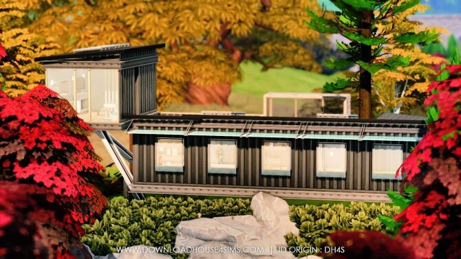 Sims 4 Architect Container Villa at DH4S