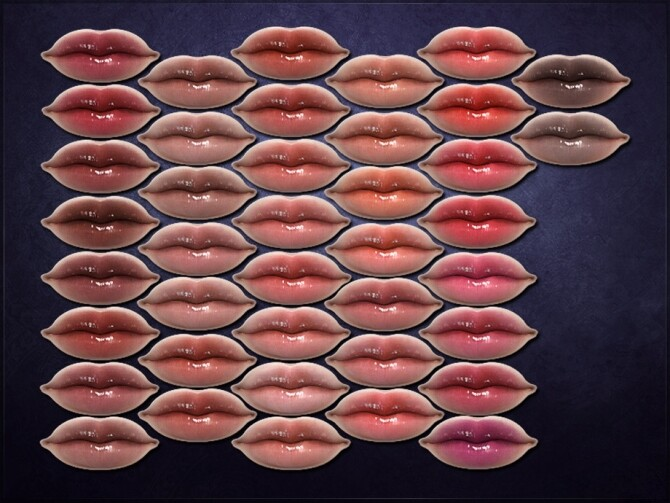 Sims 4 Nodosum Lipstick by RemusSirion at TSR