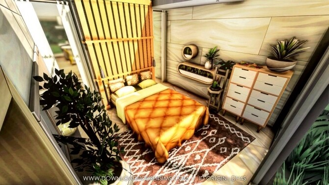 Sims 4 Jungle Container Eco Home at DH4S