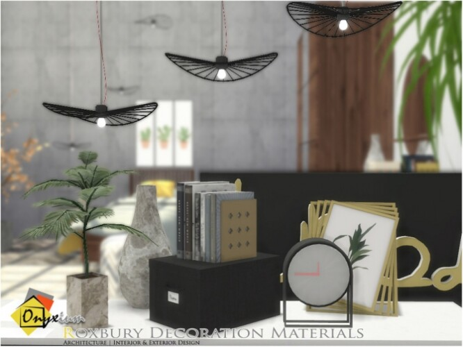 Roxbury Decoration Materials by Onyxium