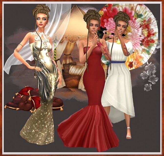 Sims 4 Malika by Mich Utopia at Sims 4 Passions