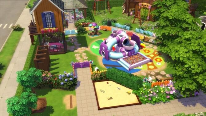 Fun park by Falco at L'UniverSims image 12410 670x377 Sims 4 Updates