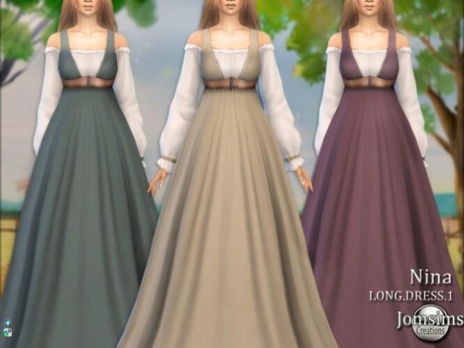 Nina farmer long dress 1 by  jomsims
