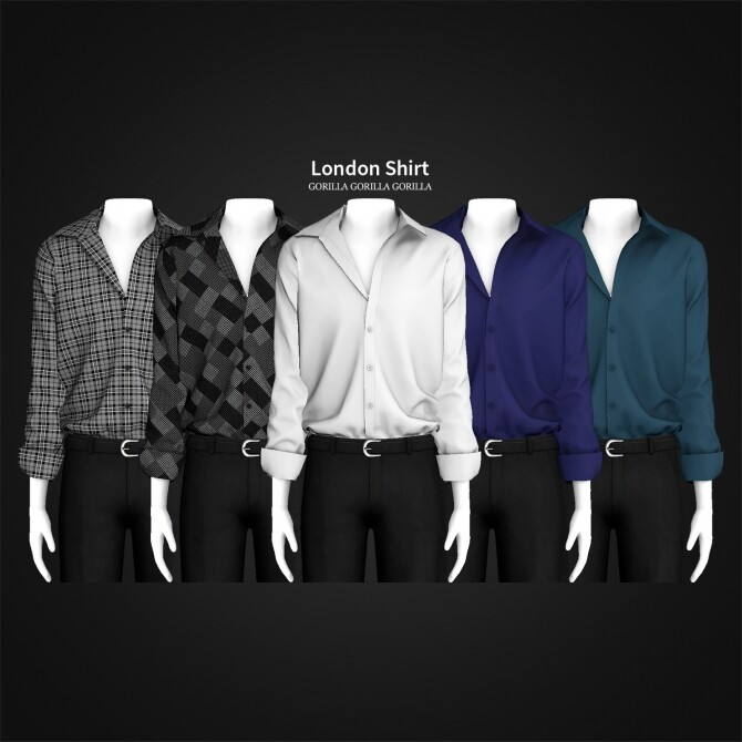 London Shirt at Gorilla image 1252 670x670 Sims 4 Updates