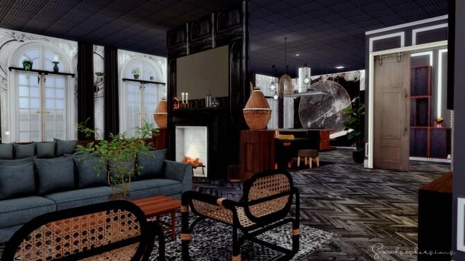 Sims 4 Art Deco Apartment at SoulSisterSims