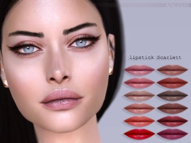 Scarlett lipstick by ANGISSI