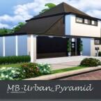 MB Urban Pyramid home by matomibotaki