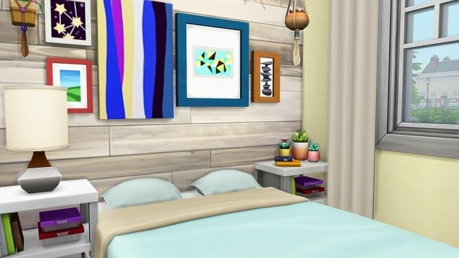 Sims 4 TINY HOUSE FOR 8 SIMS at Aveline Sims