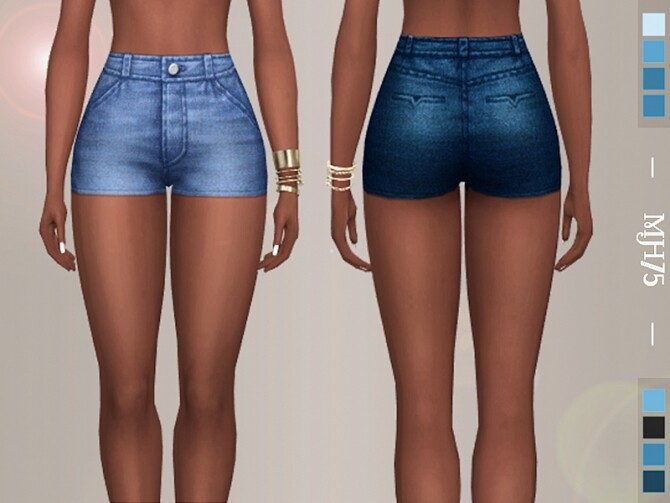 Sims 4 Jessica Shorts by Margeh 75 at TSR