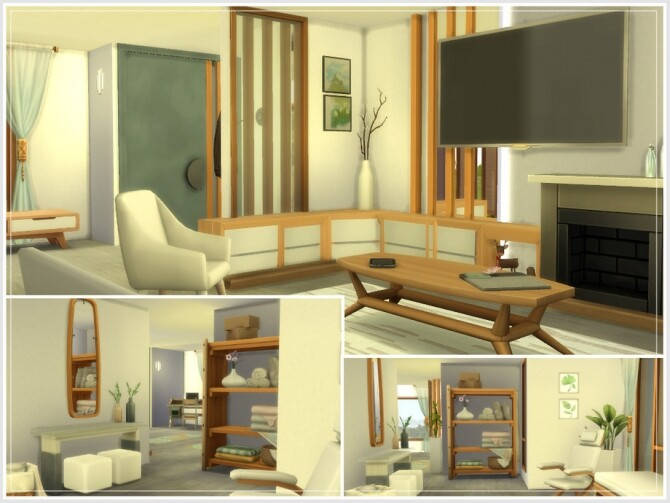 Sims 4 Celestine house by philo at TSR