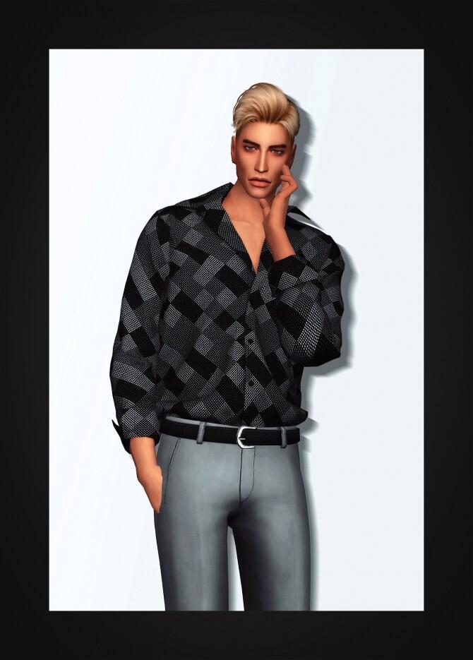 Sims 4 London Shirt at Gorilla