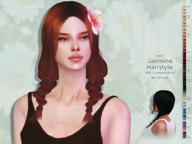Jasmine Hairstyle by DarkNighTt